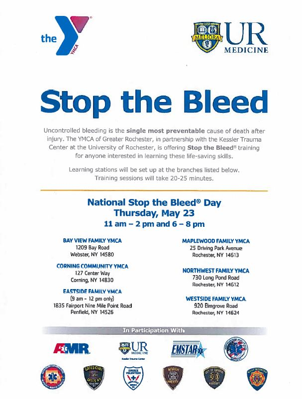 National Stop the Bleed Day (May 23)