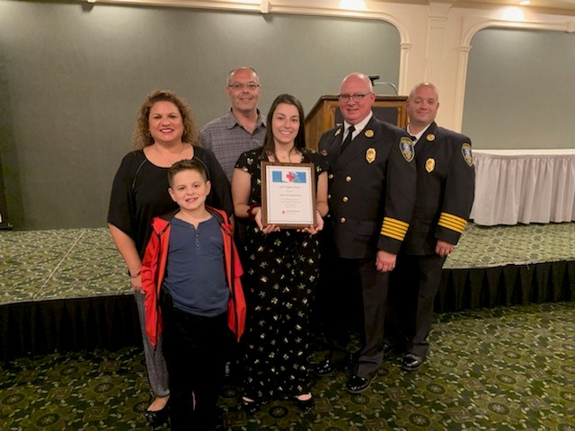 Gates Fire District awarded Good Neighbor award by Red Cross