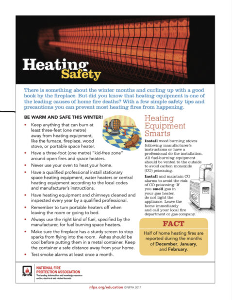 Heat your home safely!