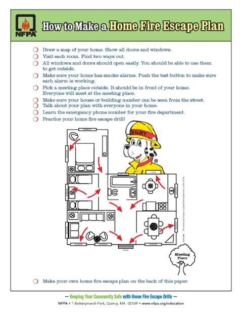 Home Fire Escape Plan!